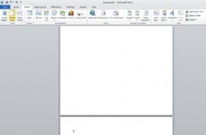 Menambah Halaman Baru Pada Microsoft Word
