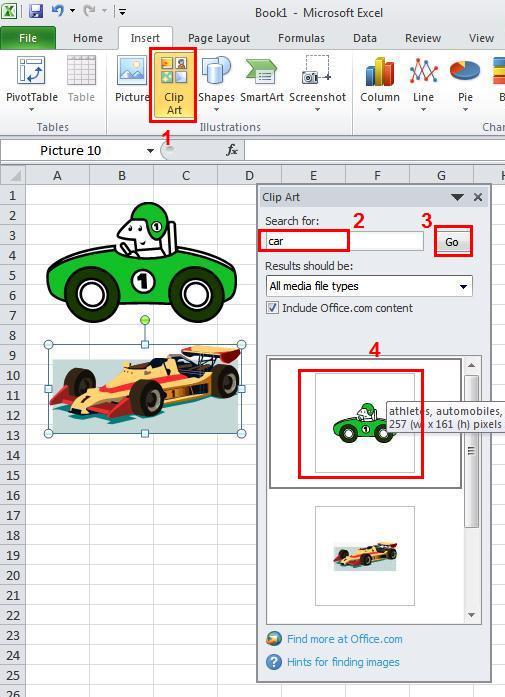 cara menyisipkan clipart pada microsoft word 2007 - photo #28