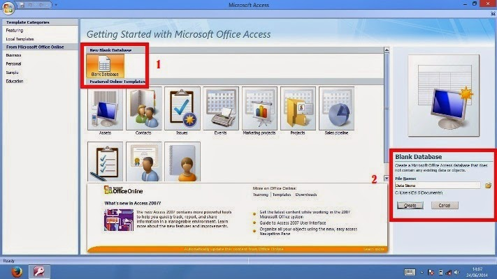 Belajar Microsoft Office Access