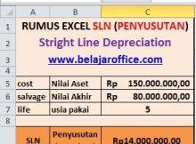 Rumus Excel SLN