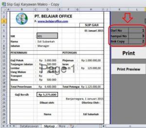 VBA Macro Excel Print Dari Sampai