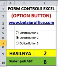 Option Button digabung IF