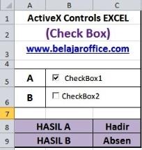 Check Box ActiveX Controls