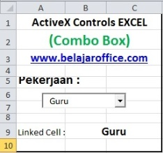 Combo Box ActiveX Control