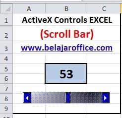 Scroll Bar ActiveX Control