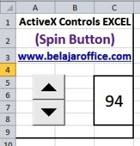 Spin Button ActiveX