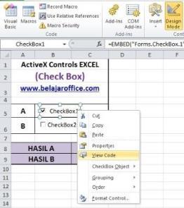 View Code Check Box