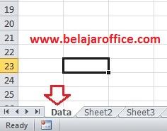 Rename Sheet Excel
