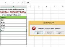 Duplikat data