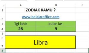 zodiak excel