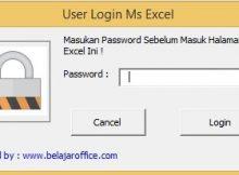 Form Login Password Excel VBA