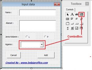Combo Box Excel VBA