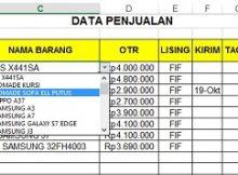 data-penjualan
