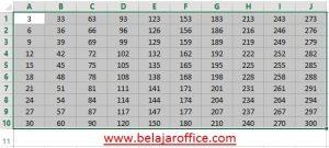 tabel angka 3-300 loncat 3