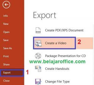Export PowerPoint