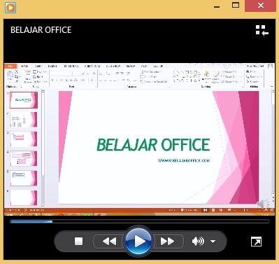 Cara Export Presentasi Powerpoint Menjadi Video Slide Belajar Office