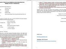 Contoh Surat Kesanggupan Membayar SPP Sekolah