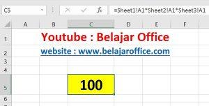 Cara 3 Perkalian Excel