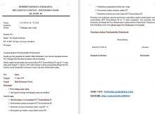 Contoh Surat Undangan Resmi Rapat Ketua RT HUT RI