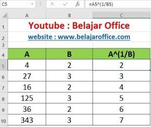 Cara 4 Pangkat Excel Otomatis Autofill