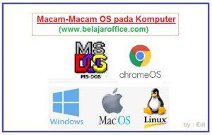 Macam-Macam OS pada Komputer